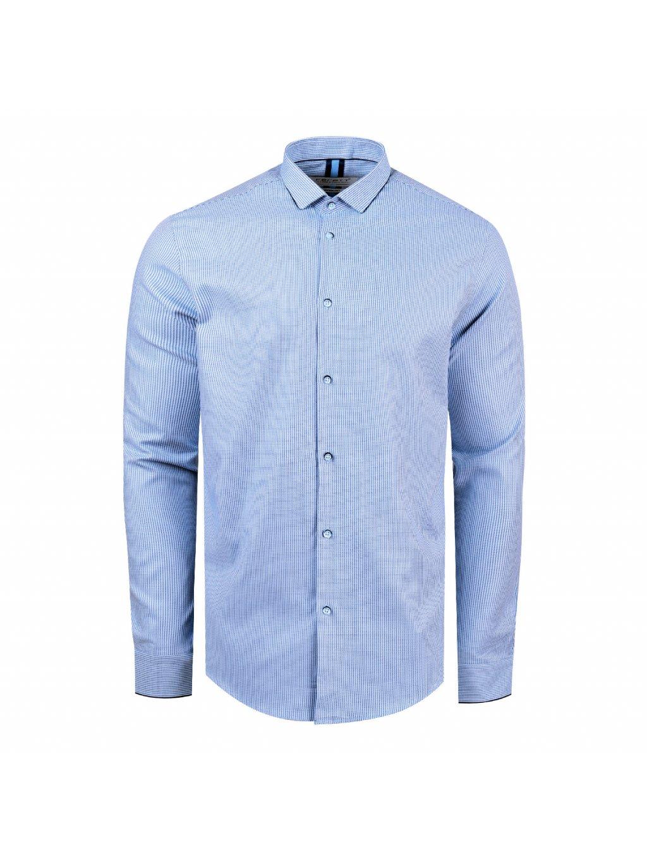pánská košile FERATT PERF Modern modrá
