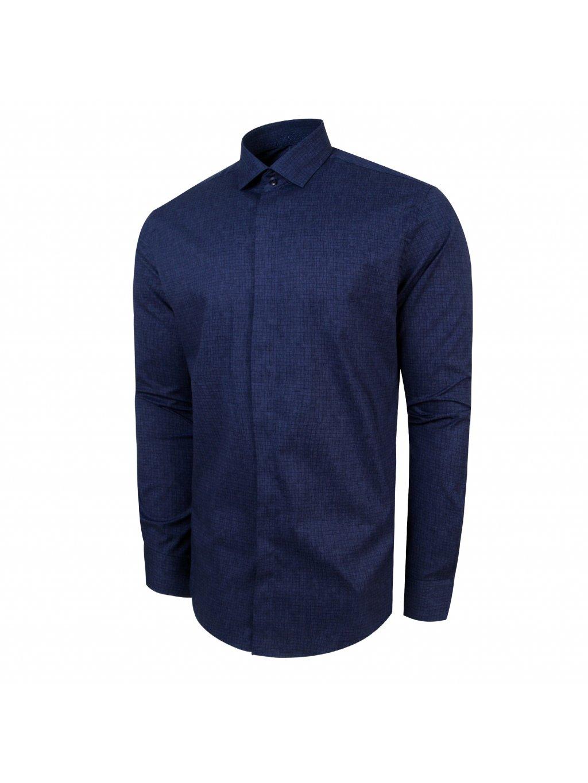 aeea146a587d košile DENIS Modern modrá - PÁNSKÁ MÓDA