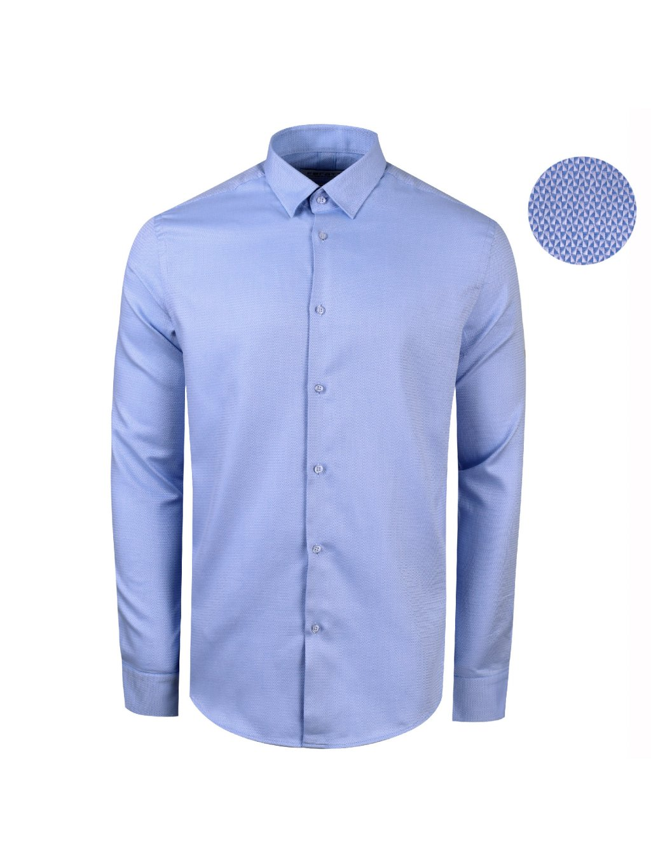 ce6fcc749ee7 košile INDODA Modern sv. modrá - PÁNSKÁ MÓDA
