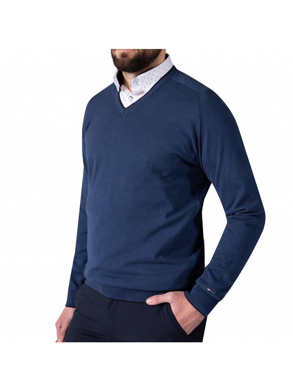 Pánský svetr DARREN 2 modrý