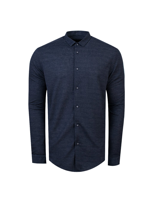 Pánská košile FERATT CHARLIE Modern tm. modrá