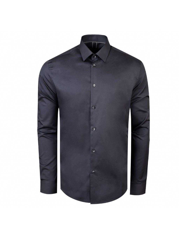 košile F-LINE Modern šedá