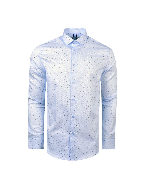 pánská košile FERATT ADAMS Slim sn. modrá