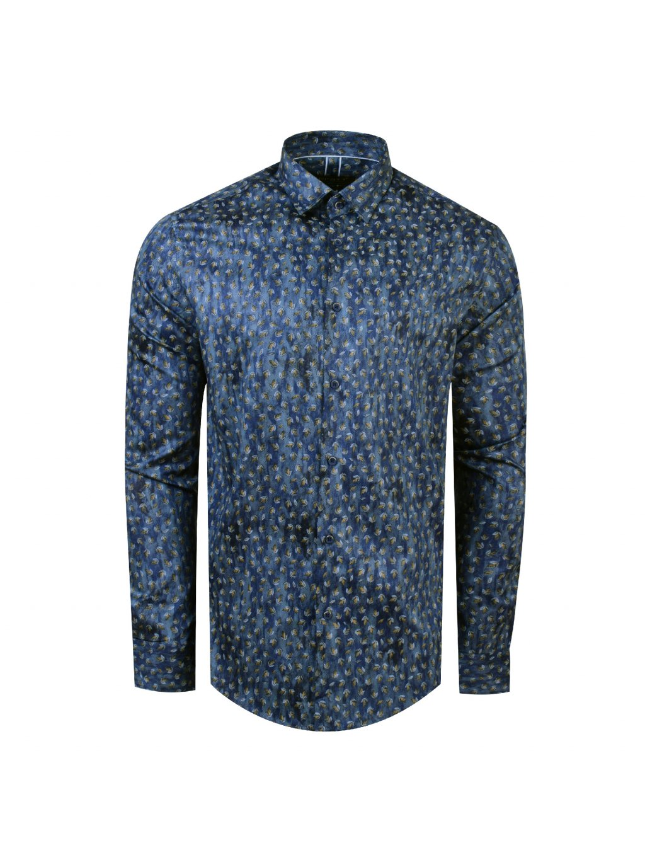 pánská košile FERATT BUNGA Modern modrá