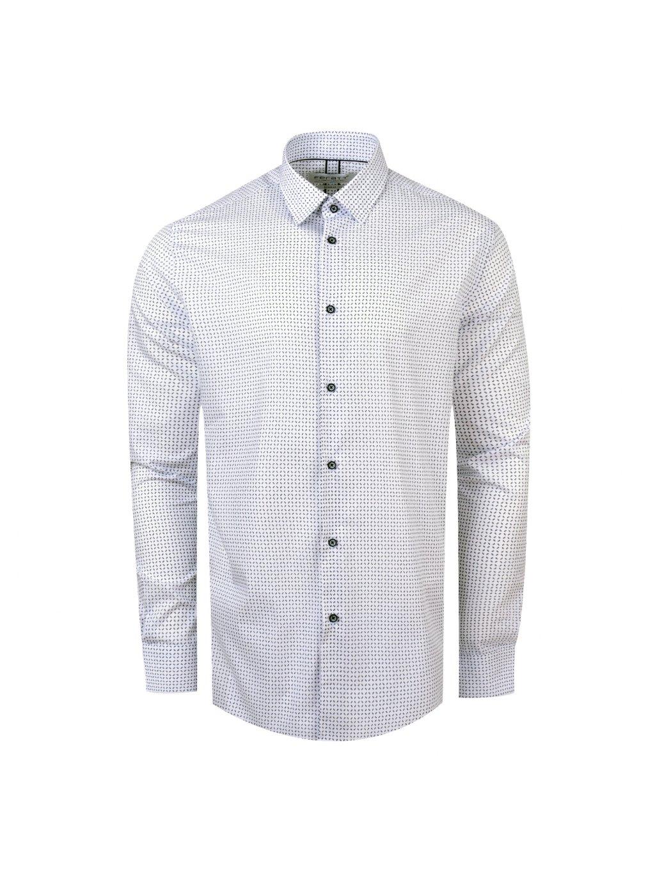 košile HENRY Reg bílá m.