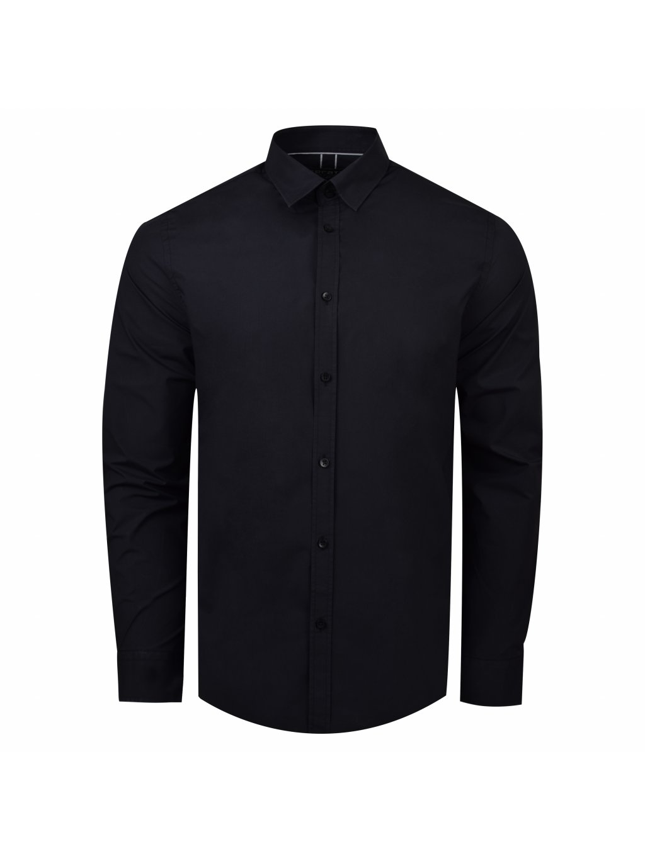košile MARCUS Slim fit antracit