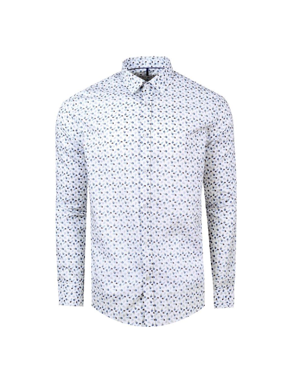 košile PLUME Slim fit bílá m.