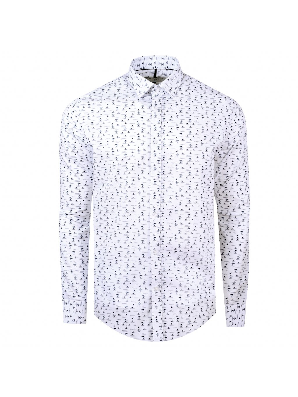 pánská košile FERATT REQUIN Slim bílá m.