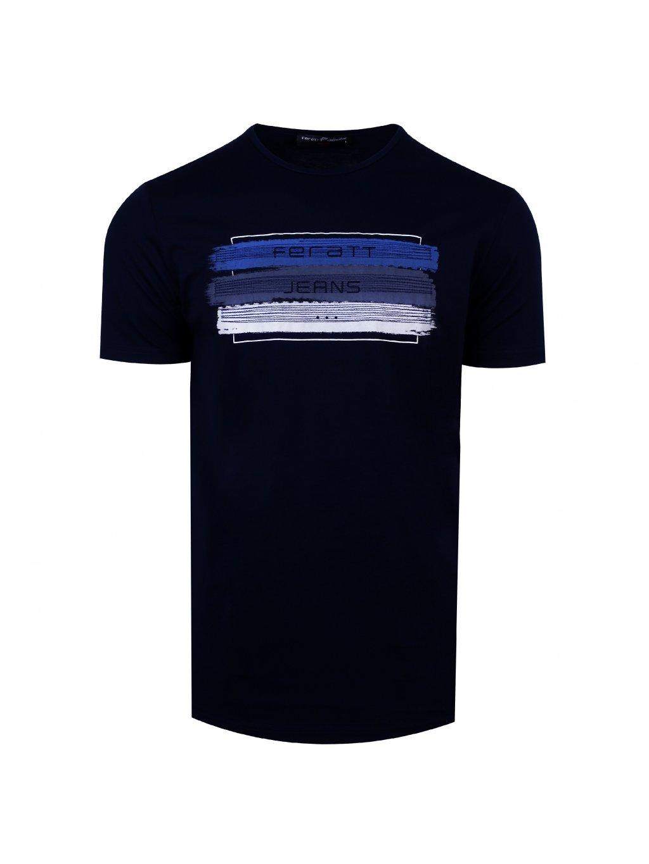 tričko JEANS navy