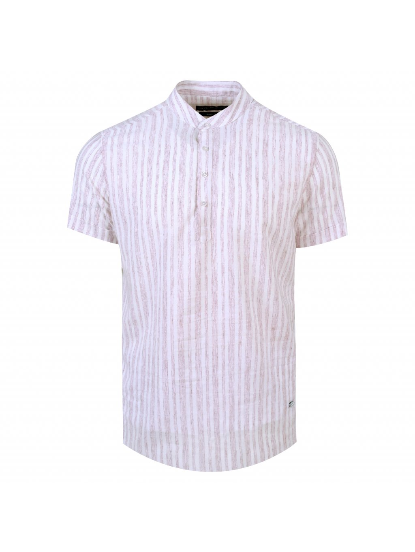 pánská košile FERATT FRANKIE Slim krátký r. bordó
