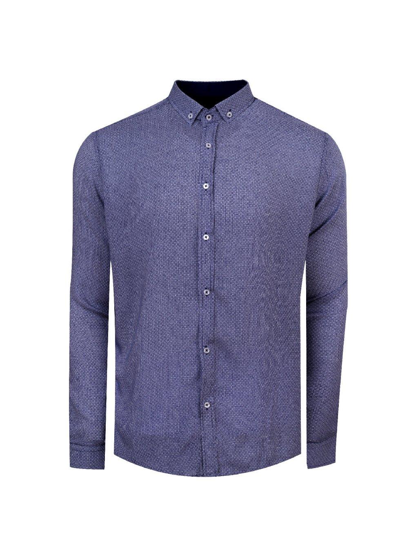 pánská košile FERATT DAN Regular modrobílá
