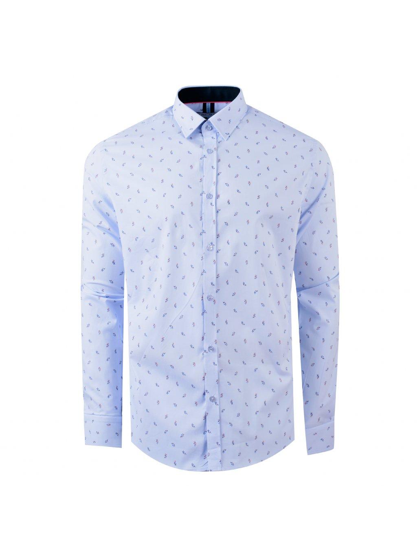 košile FRANCESCO Modern světle modrá