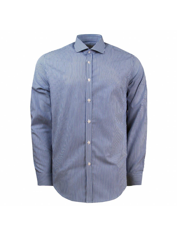 košile SEBASTIAN Slim fit modrobílá