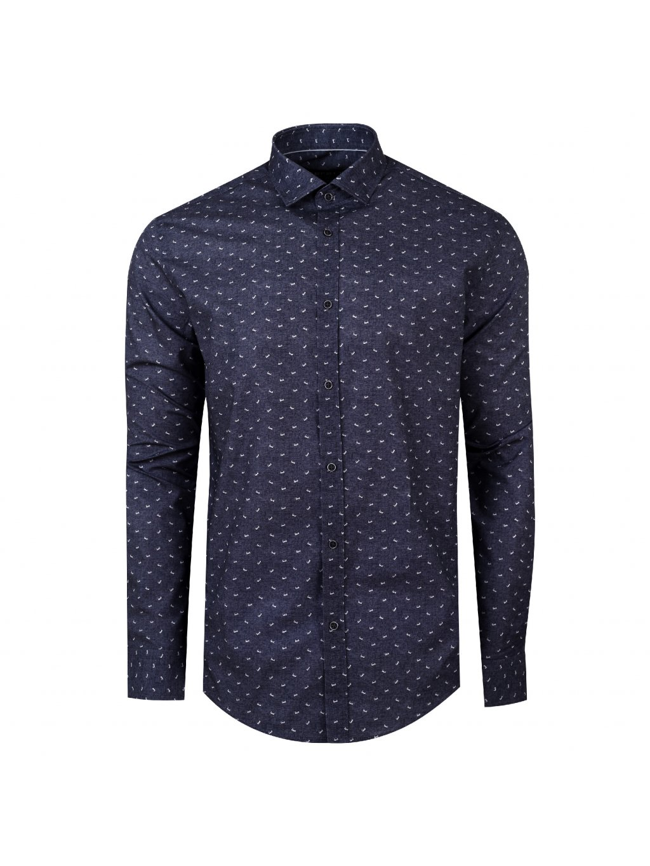 Pánská košile FERATT LOVE Modern šedá