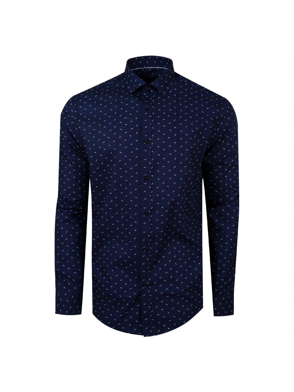 košile LOVE Modern modrá