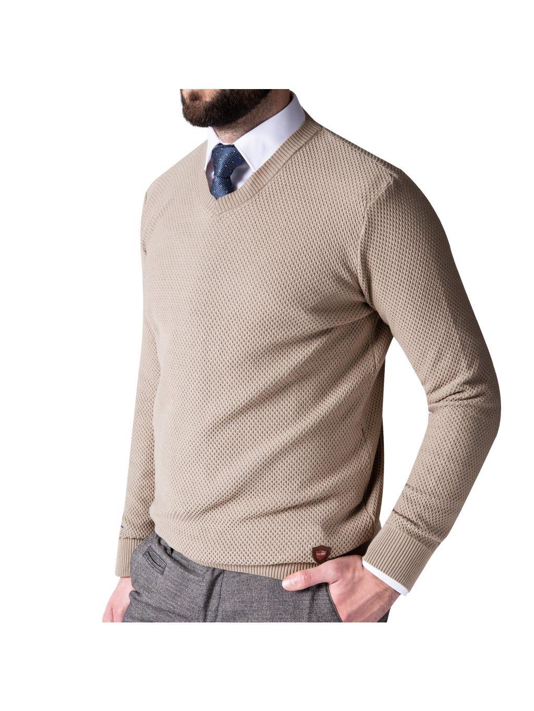 Pánský svetr Mark béžový