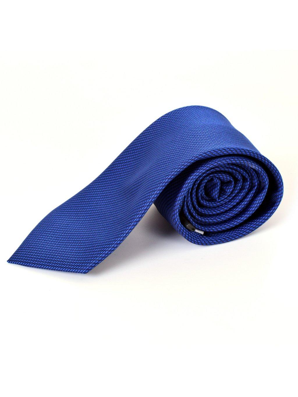 kravata F38 - modrá