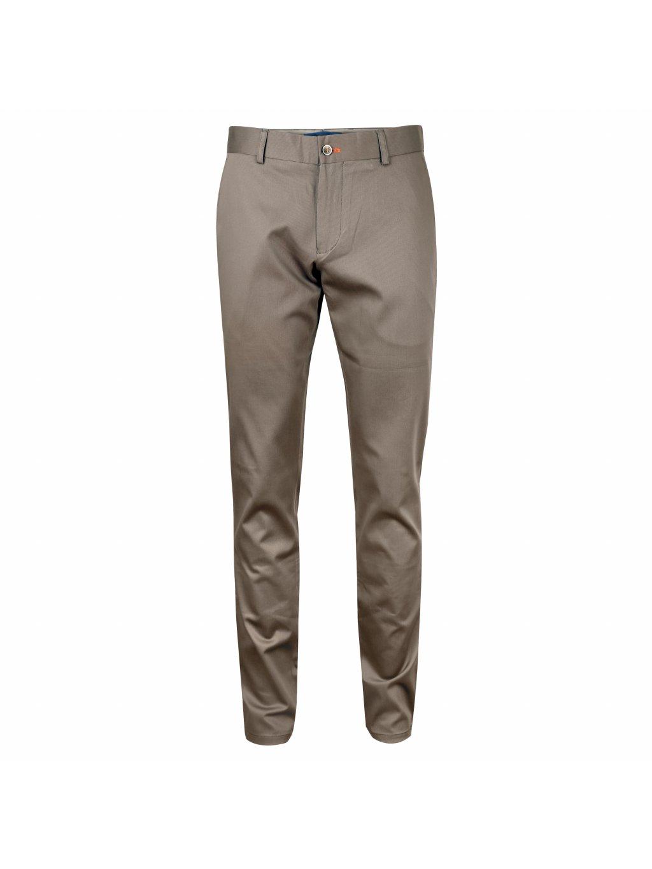 kalhoty FILIPPO tmavě hnědé