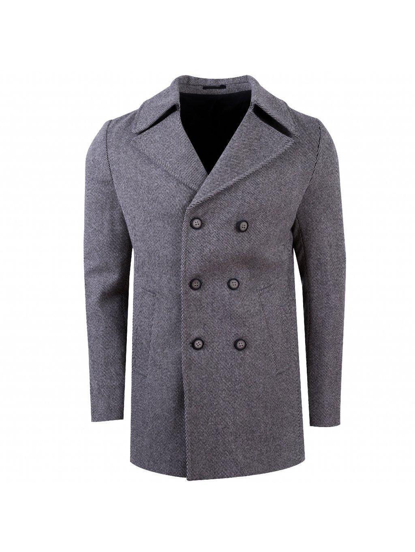 Pánský kabát STEFANO šedý