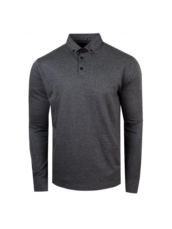 Pánská polo košile FERATT Mark šedá