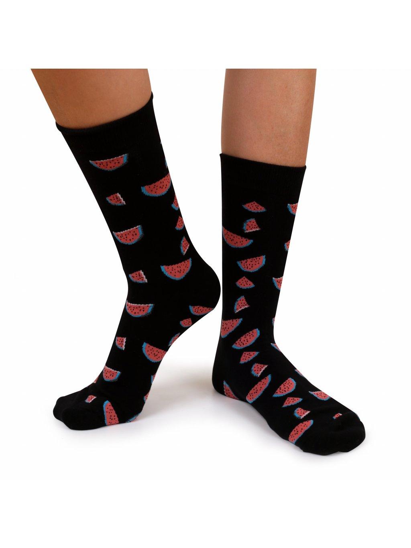Ponožky černé - MELONS