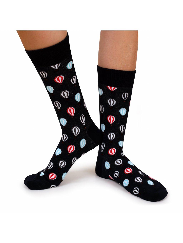 Ponožky tmavě modré - BALLOONS