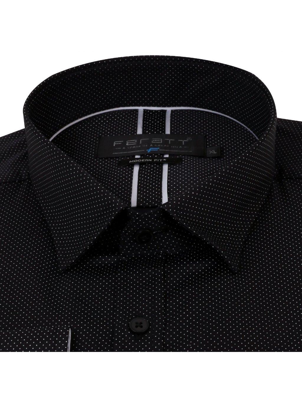 Pánská košile FERATT KAMIL Modern černá