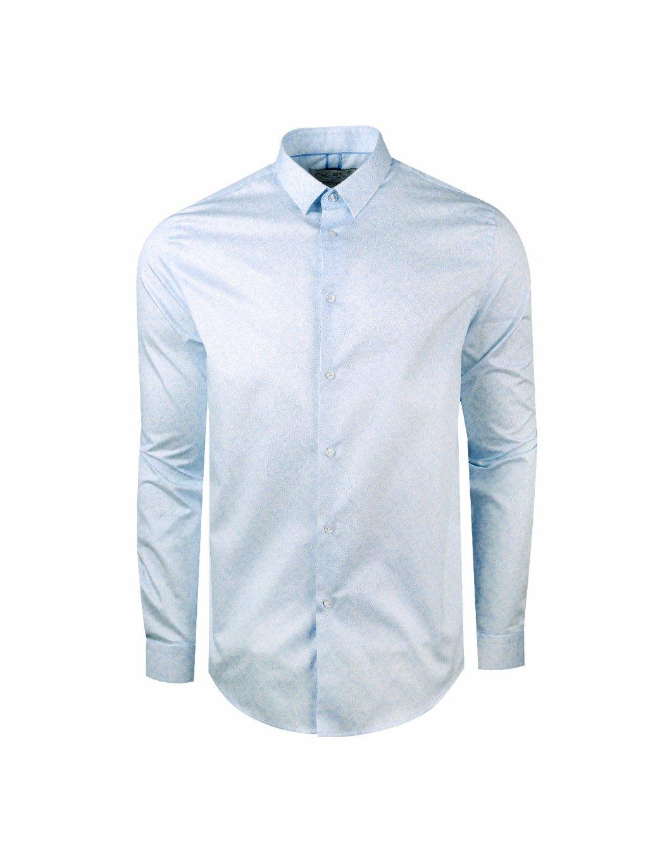 Pánská košile FERATT VITTORIO Slim světle modrá