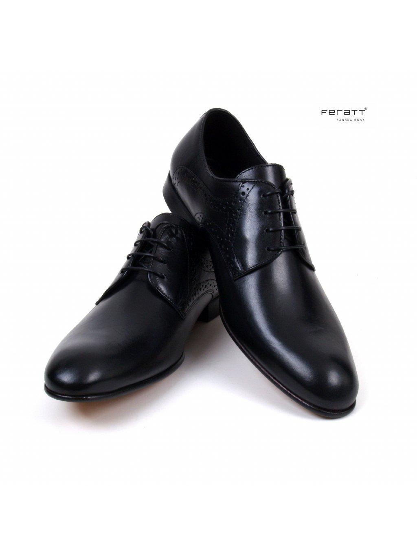 boty FERATT černé 02893
