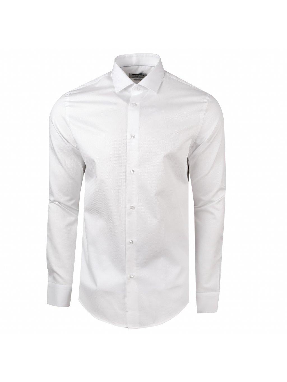 košile F-LINE LUX Slim bílá
