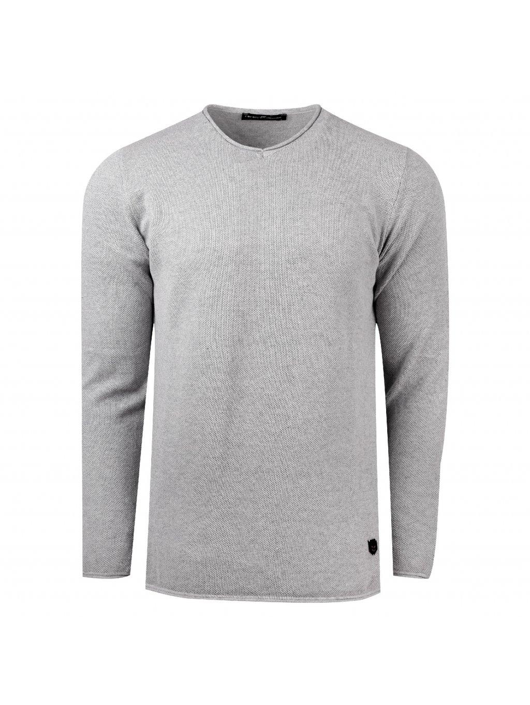 Pánský svetr JAMES šedý