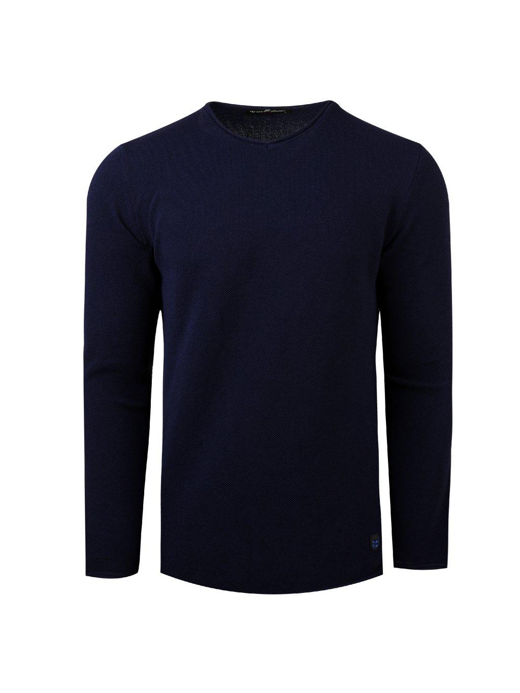 Pánský svetr JAMES tmavě modrý