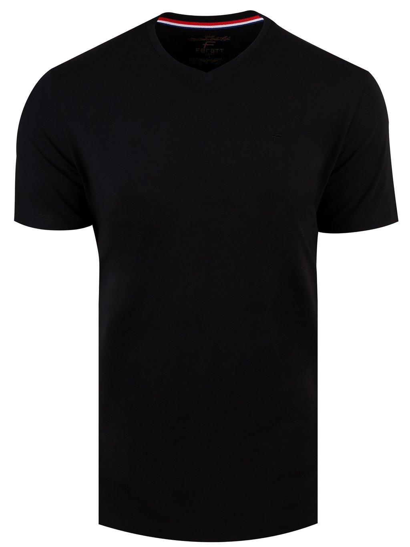 tričko KANSAS V černé