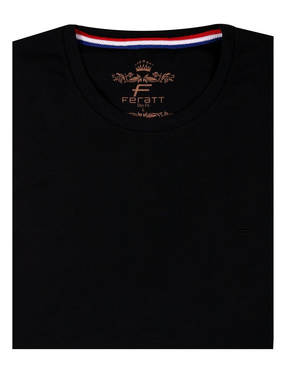 tričko KANSAS U černé