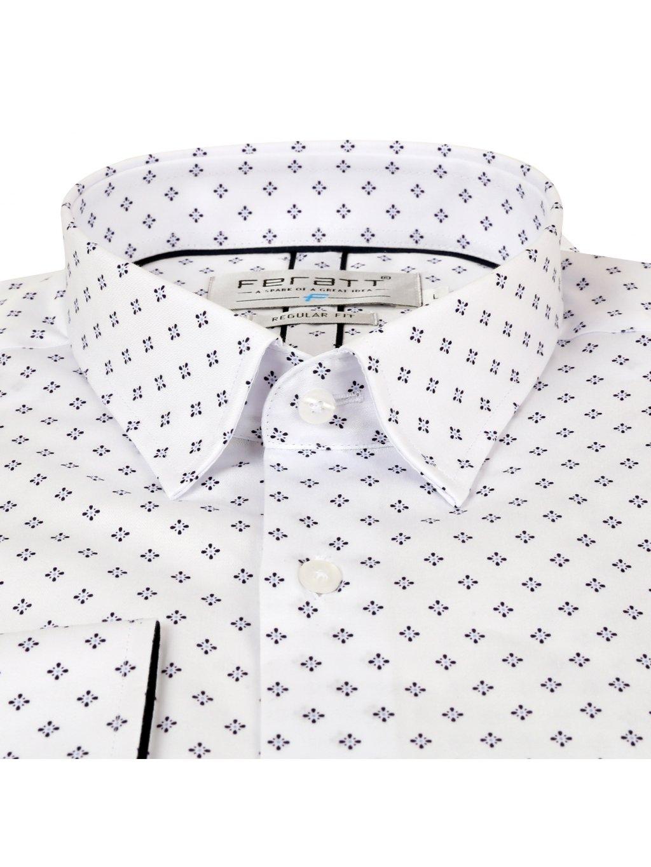 košile JOHNNIE Regular bílá