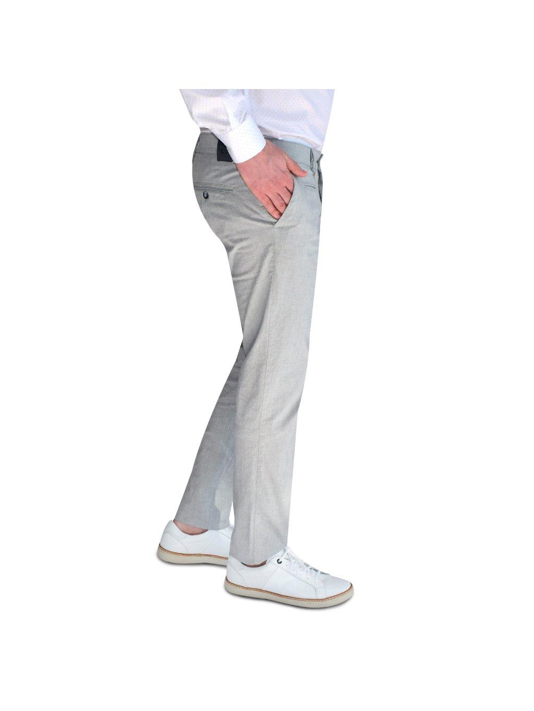 kalhoty FERATT světle šedé