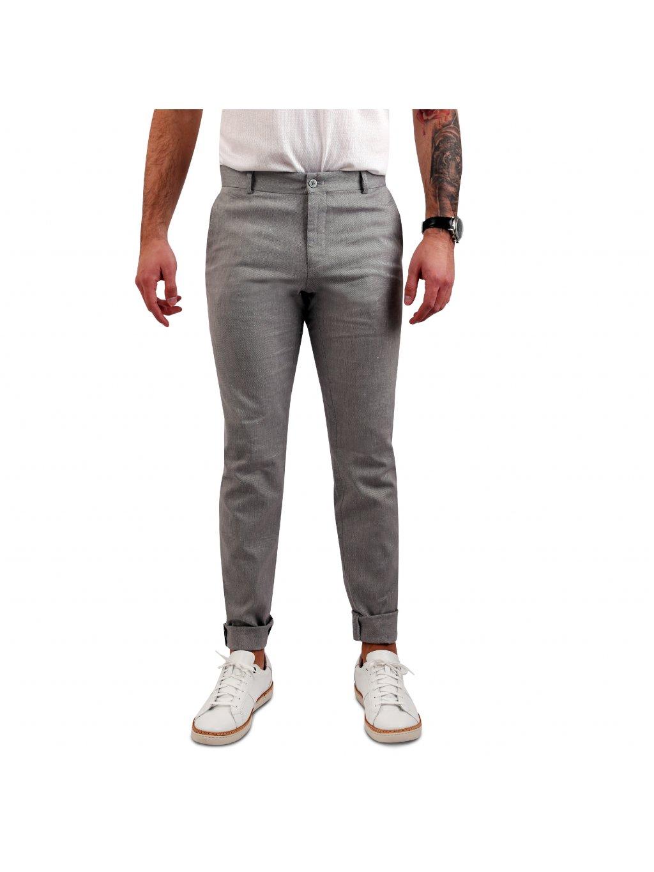 kalhoty BLAKE šedé