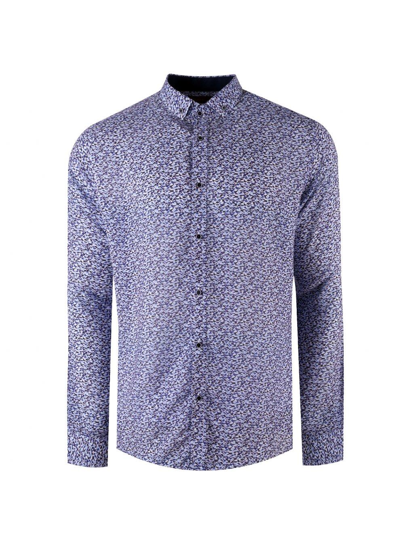 košile BAMBOO 20 Regular modrá