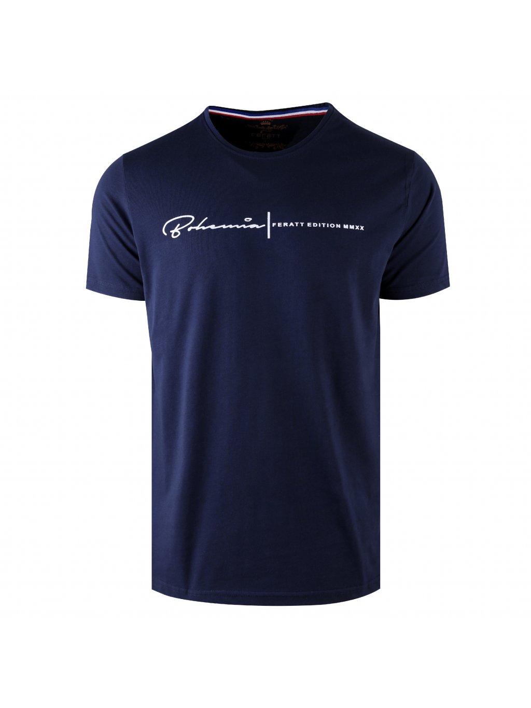 tričko BOHEMIA tmavě modré