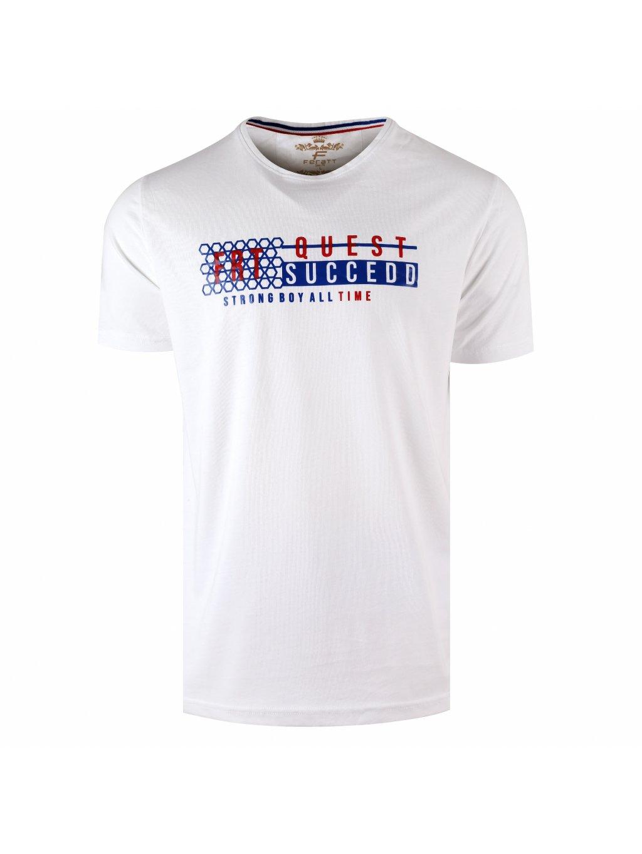 Tričko QUEST bílé