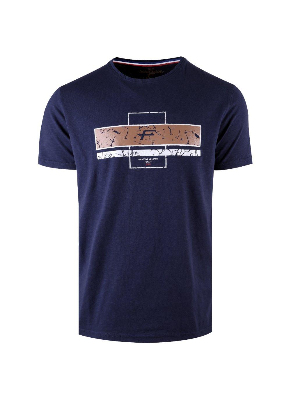 tričko VOLCANO tmavě modré