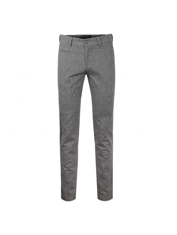 kalhoty OLIVER šedé