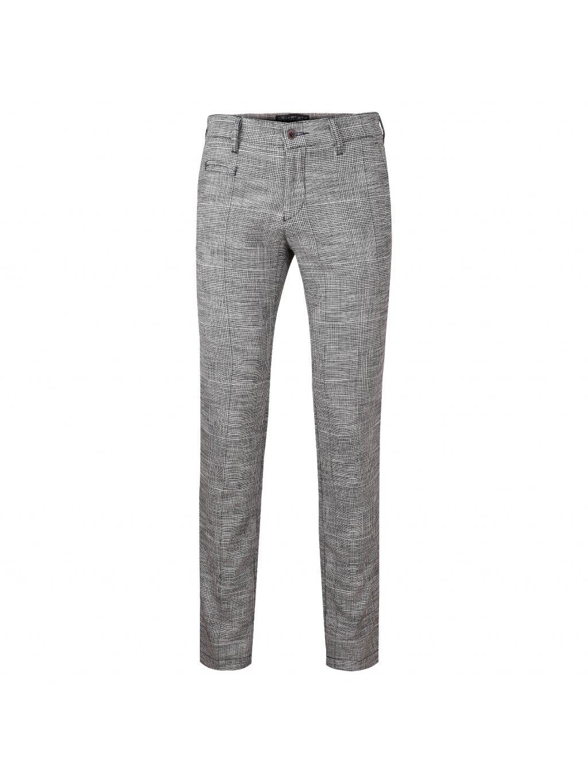 Kalhoty OLIVER šedé - vzor