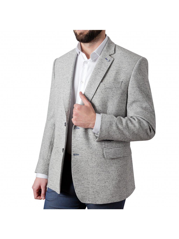 Pánské sako RENO světle šedé