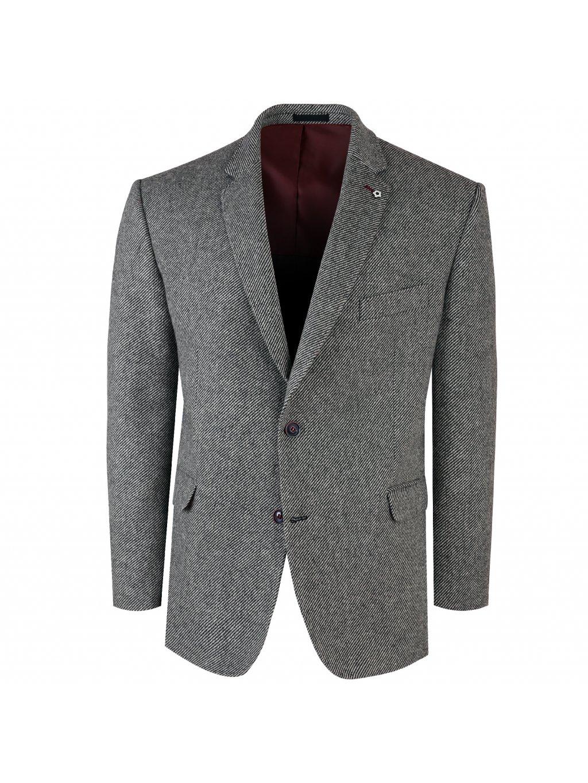 Pánské sako RENO tmavě šedé