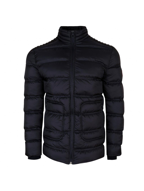 Pánská zimní bunda VALERMO - modročerná