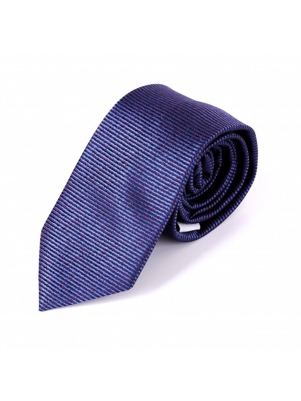 Kravata modrá F69