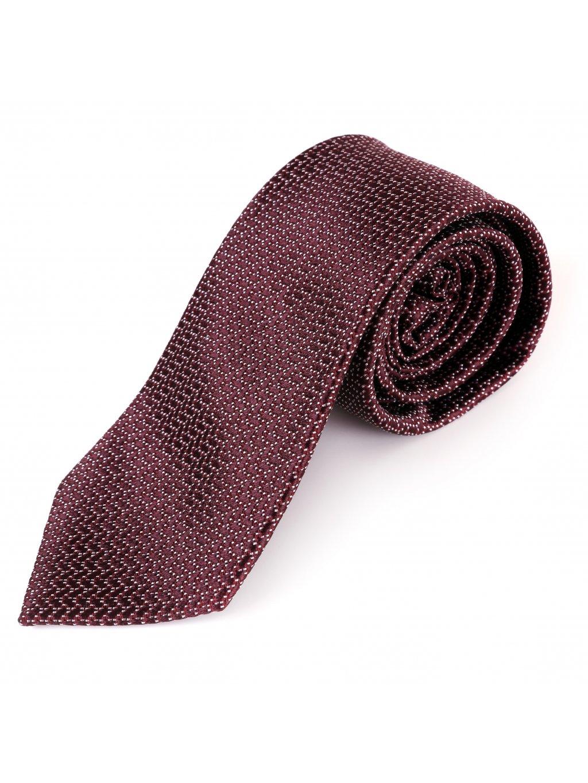 Hedvábná kravata červená