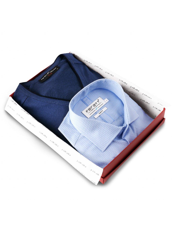 balíček modrý