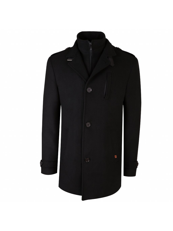 Pánský kabát Trevi - černý